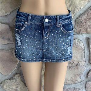 Wallflower Embellished Mini Skirt Size 3